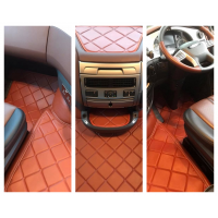 DAF 105XF / 106XF Eco Leather Engine cover & Floor mats