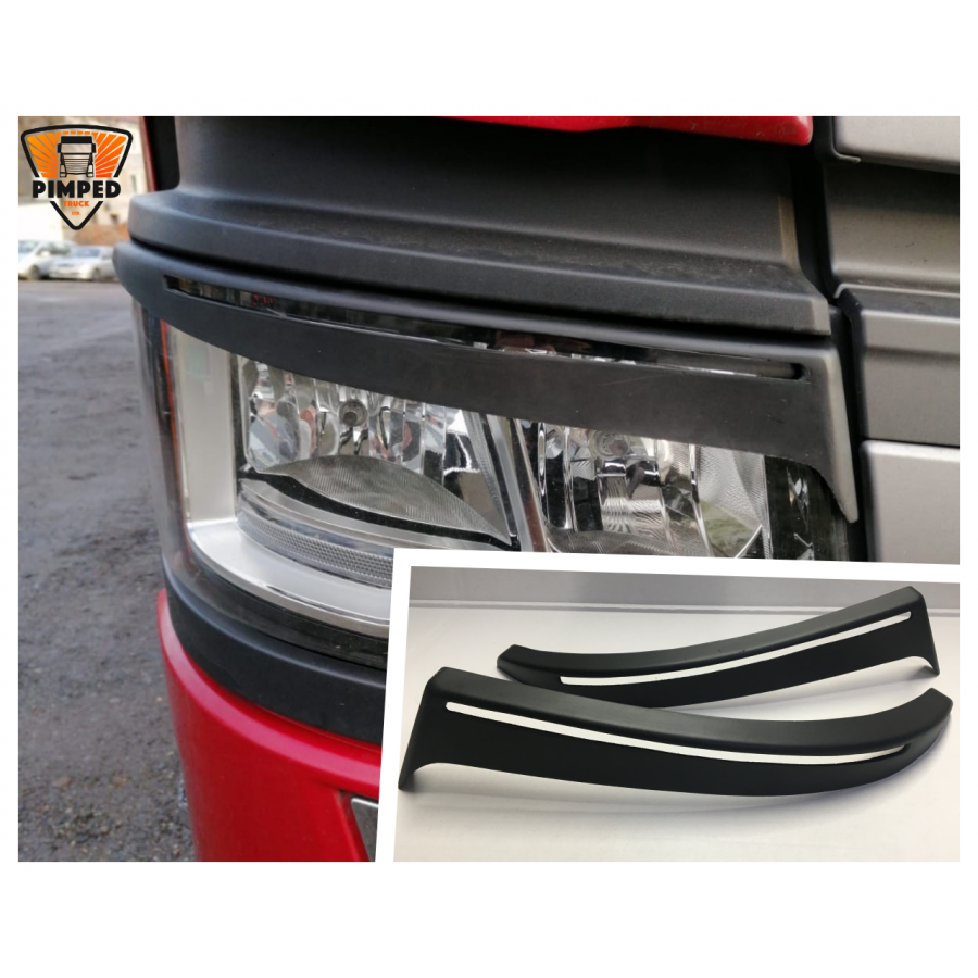 SCANIA S R P G Series Next Generation Eyebrows For Xenon
