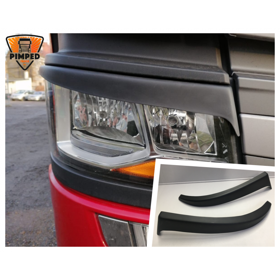 SCANIA S R P G Series Next Generation Eyebrows For Halogen