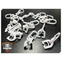 Curtains hooks for truck SCANIA R 50 pieces