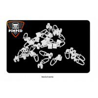 Hooks for curtains Scania S-series (25pcs)