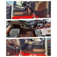 MAN TGX New GEN Eco Leather Engine cover & Floor mats