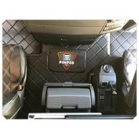 MAN TGX Eco Leather Engine cover & Floor mats
