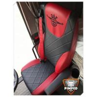 DAF 106xf / DAF CF EURO6 FULL ECO LEATHER SEAT COVERS