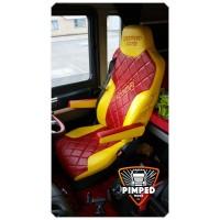 MAN TGX/TGS/TGM/TGL/TGA FULL ECO LEATHER SEAT COVERS