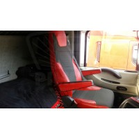 RENAULT MAGNUM 2009-... ECO LEATHER SEAT COVERS
