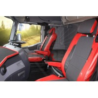 RENAULT T-range ECO LEATHER SEAT COVERS separate head rest