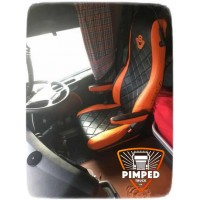 SCANIA R/G/P-series 2005-2013 ECO LEATHER SEAT COVERS
