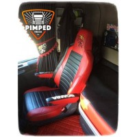 SCANIA S/R/G/P/4-series FULL ECO LEATHER SEAT COVERS