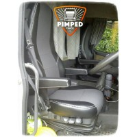 VOLVO FH/FM 2002-2008 ECO LEATHER SEAT COVERS