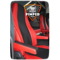 VOLVO FH/FM 2009-2013 ECO LEATHER SEAT COVERS