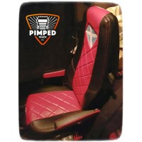 VOLVO FH/FM 2002-2013 FULL ECO LEATHER SEAT COVERS