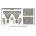Daf Grey curtains with long tassels