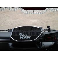 Man TGX centre truck table