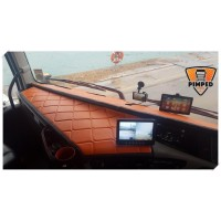 VOLVO FH4 two-piece dashboard mats
